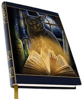 Black Cat Book of Shadows Spells Journal Pentacle Wicca Ritual Craft