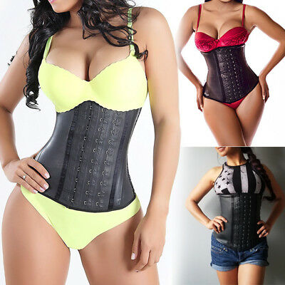 FAJA REDUCTORAS COLOMBIANAS Shapewear Body Shaper LATEX Waist Cincher Trainer US
