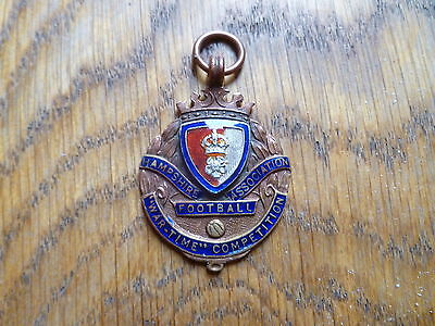 Hampshire Football Association, War-Time Competition Bronze Medal,  1939-40, Rar