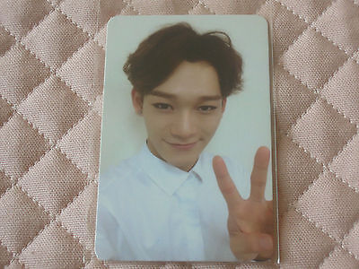 (ver. Chen) EXO 2nd Album EXODUS Korean & Chinese Photocard Call Me Baby