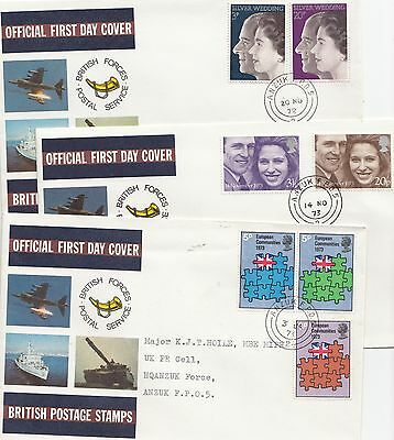 GB 14 British Forces Postal Service FDC   ANZUK  FPO 5 & FPO68  cancels
