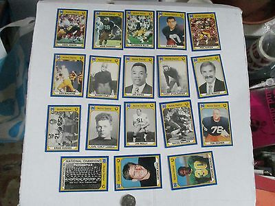 Football Usa Notre Dame---18 Collectors Cards