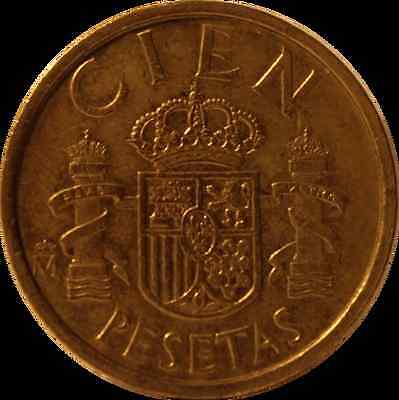 COIN SPAIN CIEN PESETAS 1986 - ��FREE DELIVERY�� lot 2