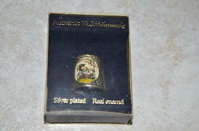 Fingerhut Hummel limited ars Edition Silver Plated in Original Verpackung 2