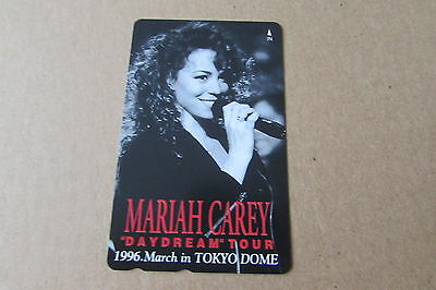 Mariah Carey Daydream Tour 1996 On Mint Unused Phonecard From Japan