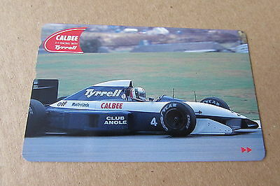 Tyrrell F1 Racing Car On Mint Unused Phonecard From Japan