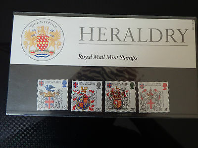 Qe2 Superb 1984 Heraldry  Presentation Pack In Mint Condition