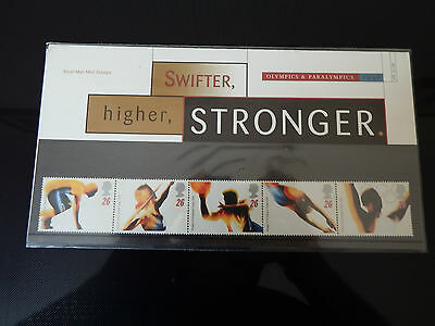 Qe2 Superb 1996 Olympics  Presentation Pack In Mint Condition