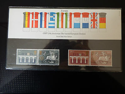 Qe2 Superb 1984 Europa  Presentation Pack In Mint Condition