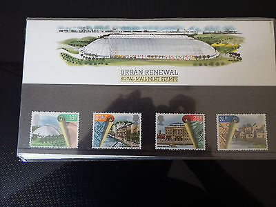 Qe2 Superb 1984 Urban Renewal  Presentation Pack In Mint Condition
