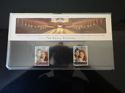 Qe2 Superb 1986  Royal Wedding  Presentation Pack In Mint Condition