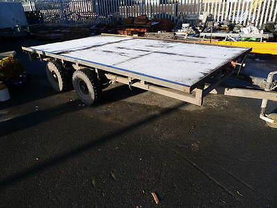 12 ft flat bed Ifor williams trailer.