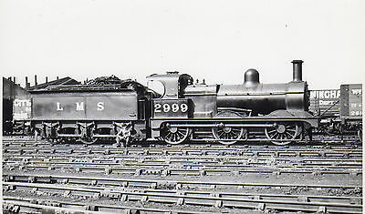 Photo LMS Class 2F No 2999 (58172) seen at Toton sidings  in June 1937