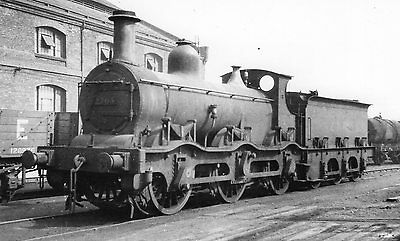 Photo LMS Class 1F No 2705 seen in Derby shed yard c1931