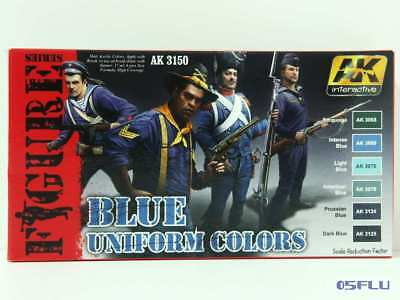 AK interactive 3150 blue uniform colors - NEU!