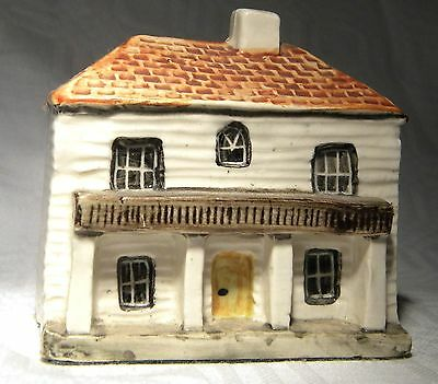 Tey Pottery Terra Craft    Miniature House  Colonial Manor House