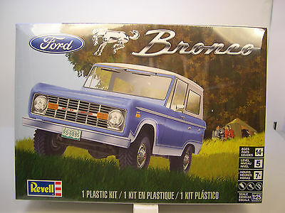 Revell 1:25 Scale 1966 - 77 Ford Bronco Plastic Model Kit Assembly Required