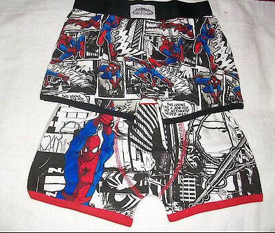 Two (2) Pair Of Boys Marvel Ultimate Superman Boxer Shorts Age 10-11  Years New