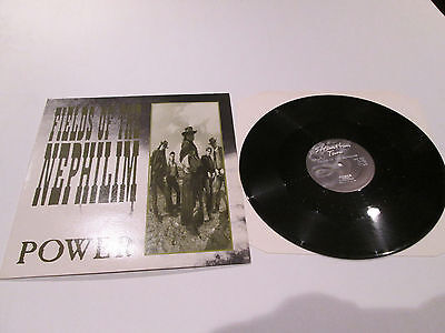 Fields Of The Nephilim 'power '12 Inch Single 2 Plays Max!