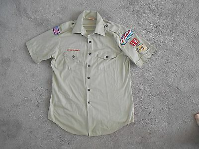Mens L Official Boy Scout Of America Shirt