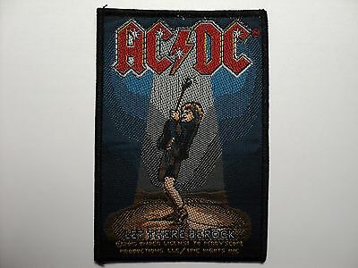 Ac/dc   Let There Be Rock   Woven  Patch