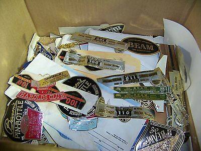 40 Jim Beam Labels Unused Lot Of 40 FREE SHIPPING