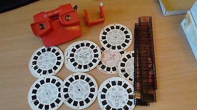 VINTAGE GAF RED VIEW-MASTER (1970s Made in Belgium)
