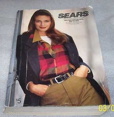Vintage Collectible Sears-1992-1993 Fall/Winter Catalog