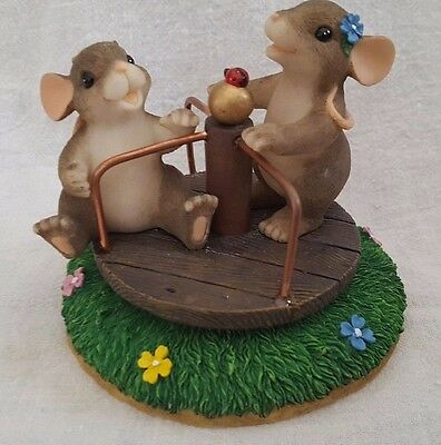 You Turned My Life Around ~ Charming Tails ~ 98/230 (Fitz & Floyd Collectible)