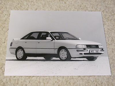 1989 Audi 90 Quattro Original Press Photo