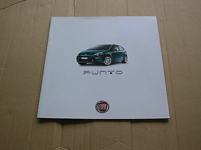 Fiat Punto original colour sales brochure