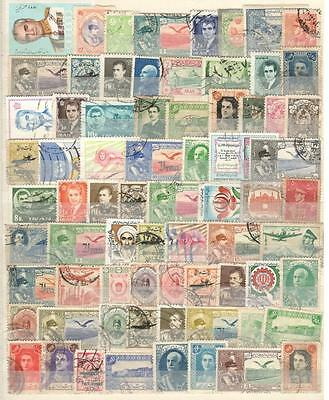 Middle East - 72 Stamps - Used