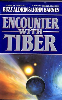 Apollo 11 Moonwalker Buzz Aldrin Autographed Encounter With Tiber! 1st/1st Mint!