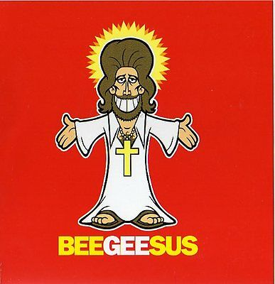 Bee Gees Barry Gibb Beegeesus  Sealed Card By Popmarsh