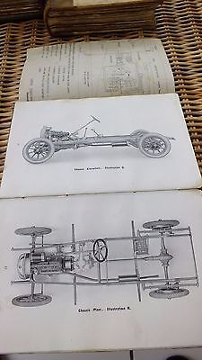 HUMBER TEN 10HP 10H.P. CARS WORKSHOP MANUAL 2/3 & 4 SEATER 1920's