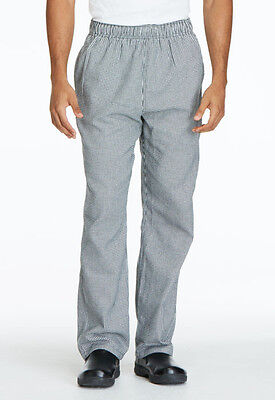 Houndstooth Dickies Unisex Traditional Baggy Chef Pants DC11 HDTH