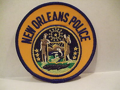 police patch  NEW ORLEANS POLICE LOUISIANA