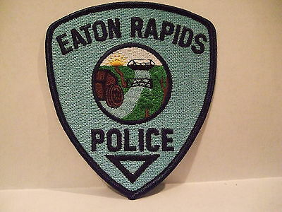 police patch  EATON RAPIDS POLICE MICHIGAN