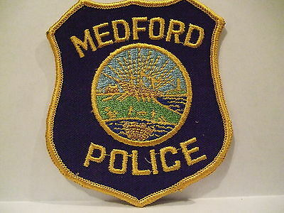 police patch  MEDFORD POLICE MASSACHUSETTES