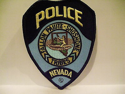 police patch  FALLON PAIUTE SHOSHONE TRIBES  POLICE NEVADA  NATIVE INDIAN