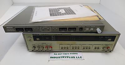 Leader LCR-745-01 Meter With LCR-745-02 Comparator Digital Free Shipping
