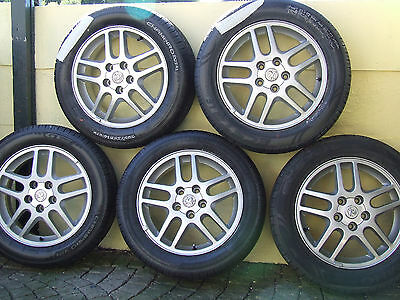 VAUXHALL VECTRA B 2001 16 Inch Alloy Wheels x5 with BRAND NEW Tyres