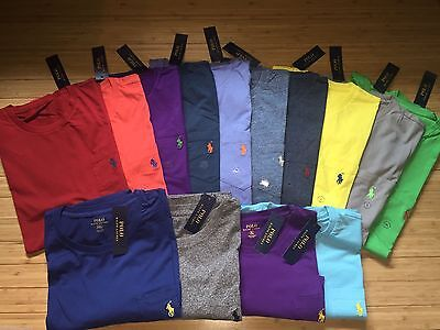 NEW POLO RALPH LAUREN POCKET T SHIRT S M L XL XXL CLASSIC FIT 31 colors