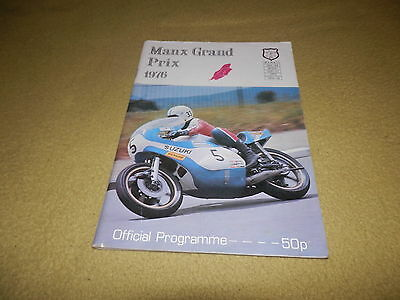 1976 Manx Grand Prix Races - September 7th - 9th Official Programme