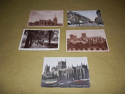 Postcard selection of Bristol sites and views with various dates x 5