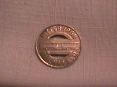Pittsburgh PA PRC TOKEN  Coin Transportation Co RAILWAY RR Railroad