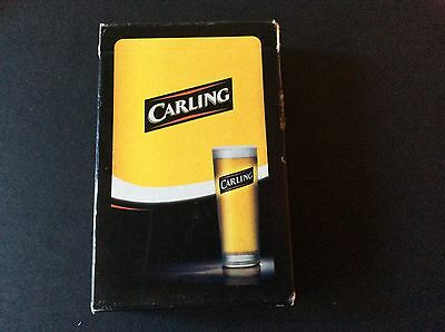 Carling  Playing Cards  - Complete - Excellent