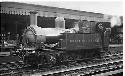 Photo GWR 2-4-0T No 626 at Oxford Station on 21/6/1930