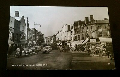 Posted PPC of The High Street Chelmsford Essex 1950's