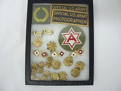 Lot Of Vintage Military Pins and Badges